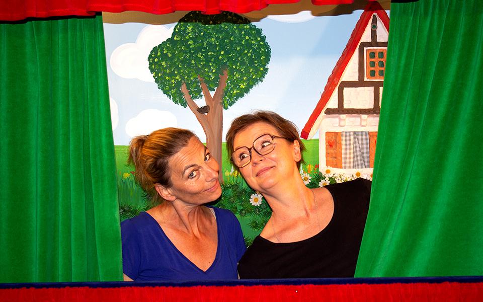 Kasperle Theater Ulm, Sabine Dröll und Heike Gruber
