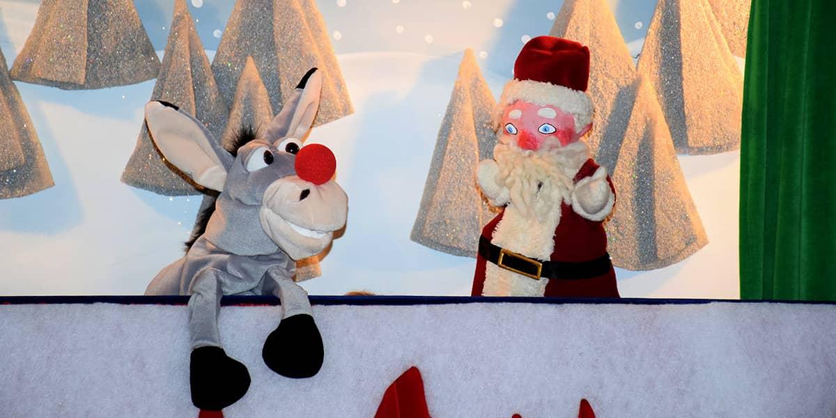 Fridolin un der Weihnachtsmann - Kasperle Theater